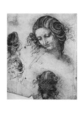Study for the Head of Leda, 1503-1507 Giclée par Leonardo Da Vinci
