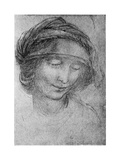 Study for the Head of St Anne  C1508