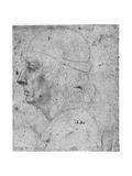Portrait Study of a Man  15th Century