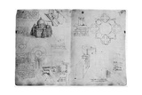 Designs for a Centralized Building  Late 15th or Early 16th Century