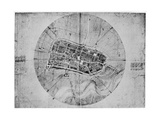 Plan of Imola  Italy  C1502