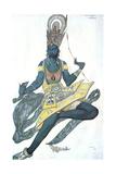 Le Dieu Bleu (The Blue God)  Ballet Costume Design  1911