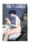Study of a Nude  1880