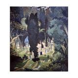 Elysium, 1906 Giclée par Leon Bakst