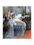 The Death of the Comte De Paris  England  1894