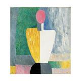 Torso (Figure with Pink Fac), 1928-1932 Giclée par Kazimir Malevich