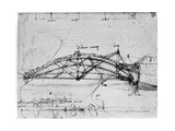 Design for a Parabolic Swing Bridge  1480-1490