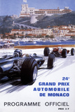 The Official Programme for the 24th Monaco Grand Prix, 1966 Giclée par Michael Turner