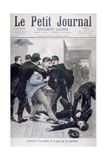 Assassination of a Policeman by an Anarchist  1895