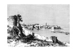 Rabat and the Mouth of the Bu-Regrag River  Morocco  1895