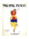 Poster for Igor Stravinsky's Ballet 'The Rite of Spring  1911