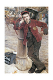 The London Bootblack  1882