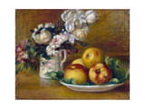 Apples and Flowers  C1895