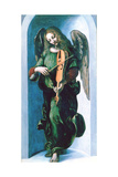 An Angel in Green with a Vielle  C1500