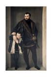 Giuseppe Da Porto and His Son  16th Century