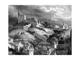 The Alhambra  Granada  Southern Spain  19th Century