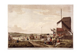Encampment on Blackheath  Greenwich  London  1780