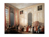 English Tea Party with the Prince of Conti at the Temple  1766