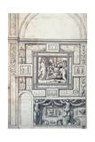 Project for a Wall Decoration of a Vault  16th Century