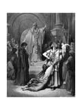 Judgement of Solomon  1866