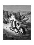 Tobias with the Archangel Raphael  1865-1866