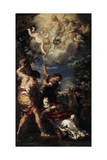 The Martyrdom of Saint Stephen  1660