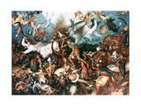 The Fall of the Rebel Angels, 1562 Giclée par Pieter Bruegel The Elder