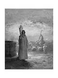 Jacob  Keeping Laban's Flocks  Sees Rachel at the Well  1866