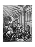 Heliodorus Attempting to Take Treasure from the Temple at Jerusalem  1865-1866