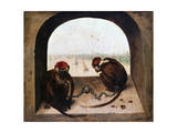 Two Monkeys  1562