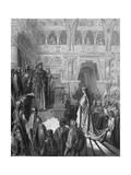 King Solomon Welcoming the Queen of Sheba  1865-1866
