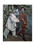 Pierrot and Harlequin (Mardi-Gra)  C1888