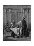 Esther (C450 B) before Her Husband King Ahasuerus (Xerxes) of Persia  1866