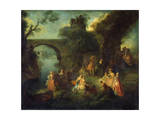 Dance at the River  C1720-1730