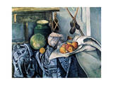 Still Life with a Flagon and Aubergines  1890-1894