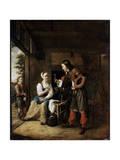 Warrior and Servant  1653