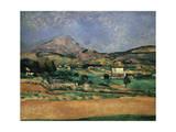 The Plain of the Mont Sainte-Victoire, 1882-1885 Giclée par Paul Cézanne
