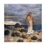 Woman on the Beach  1887