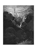 The Archangel Michael and His Angels Fighting the Dragon  1865-1866