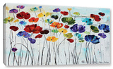 Lilies Gallery-Wrapped Canvas