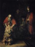 The Return of the Prodigal Son, C1668 Giclée par Rembrandt Van Rijn