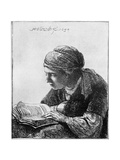 Woman Reading  1634