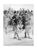 To the Wail of the Pipes  the Highland Soldiers' Lament  1910