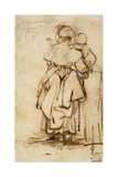 Woman with a Child on Her Lap  1640S
