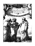 Frontispiece of Galileo's Dialogo Dei Massimi Sistemi  1632