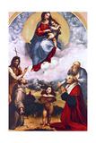 Madonna Di Foligno  C1511-1512