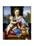 The Madonna and Child with the Infant Baptist' ('The Garvagh Madonna)  C1509-1510