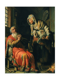 Tobit and Anna  1626