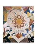 Décor Design for Mystery Bouffe  1919