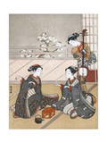 Girls Playing the Game of Ken  C1745-1770